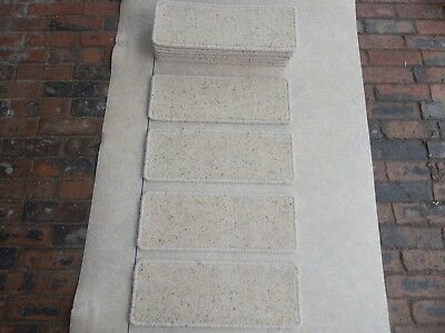 14 open plan carpet stair pad treads        set1401