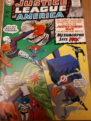 Justice league of America no 42. Metamorpho joins