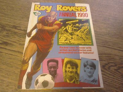 1990 ROY OF ROVERS ANNUAL unclipped good condition