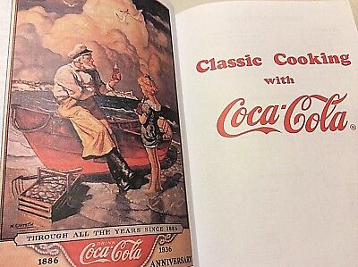 CLASSIC COOKING WITH COCA-COLA  1998 pbk B&W Illus COCA-COLA COOK BOOK