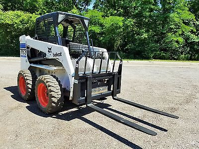 "48"" Powder coated Pallet Forks quick attach skid steer Bobcat LOCAL PICK UP"