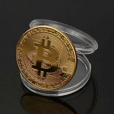 Bit Coin Golf Ball Marker
