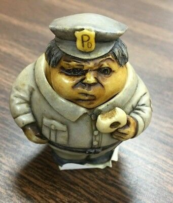 Safe Guarder 2 (the policeman) Pot Bellys by Harmony Ball 2002 collectible