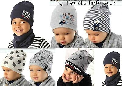 Baby Boy Infant Toddler Cotton Elastic Spring Autumn Hat Beanie Cap 3mth-8 years