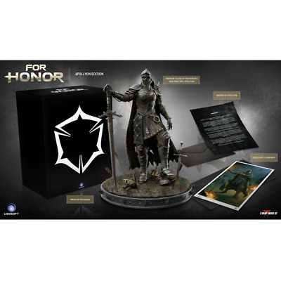 For Honor Apollyon Edition Collectors Set Statue Deluxe Limited Master Warrior.