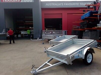 Hot Dipped Galvanized 6x4 Trailer - Trailers 2000