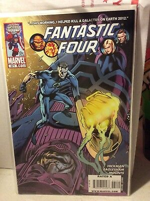 Fantastic Four (3rd Series) #571 and 570