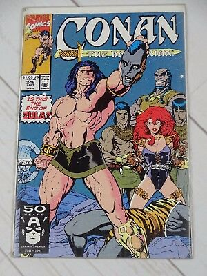 Conan the Barbarian # 248 (guest-starring: Red Sonja) Bagged and Boarded - C1928