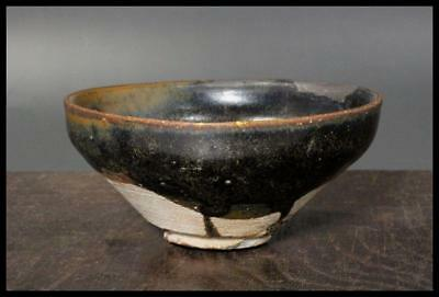 CCVP09 Chinese Antique Tenmoku bowl pottery Southern Song Dynasty