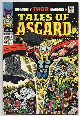 Mighty Thor Tales of Asgard #1 First Printing Comic! Stan Lee Jack Kirby 1968
