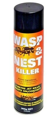 WASP & NEST KILLER SPRAY 350G - Instantly Kills Wasps on Contact