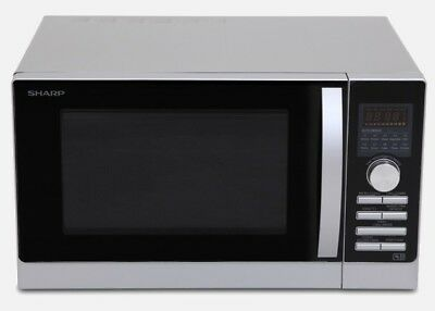 R80A0S Convection Oven/microwave/grill Silver