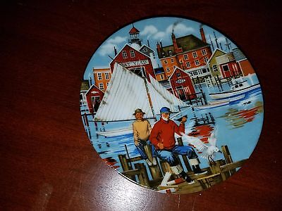 Vtg 1985 Avon American Portraits Plate Collection-The East -New In Box-