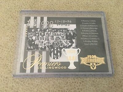 Select Infinity Collingwood 1928 Premiers Commemorative Card