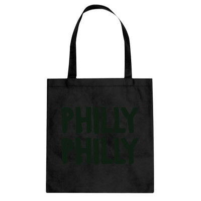 Philly Philly Cotton Canvas Tote Bag #3066