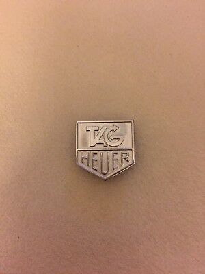 Tag Heuer Silver Tone Magnetic Pin
