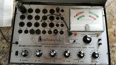 Sencore MU140 Dynamic mutual conductance tube tester