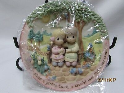 NEW Bradford Exchange Precious Moments Gentle Touch Sisters Are Forever Plate