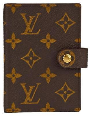 Authentic LOUIS VUITTON Monogram Agenda Cover Wallet (WITH PEN AND BOX)