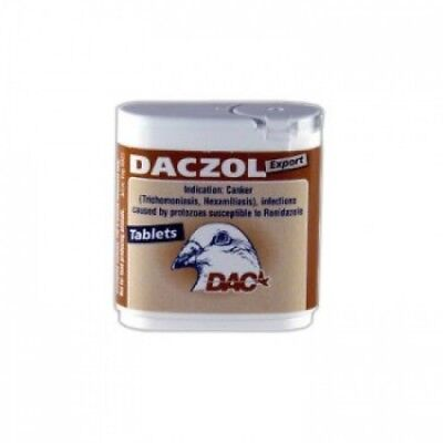 Pigeon Product - Daczol tablets by DAC - Racing Pigeons