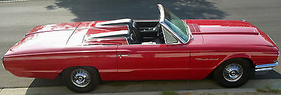 1964 Ford Thunderbird 2 Seater Tonneau Option 1964 t/bird convertible with the factory 2 seat tonneau roadster kit option