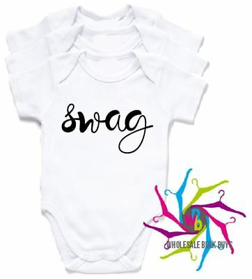 Wholesale Bulk Lot Baby Rompers - Swag X 4