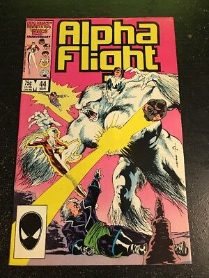 Alpha Flight#44 Incredible Condition 9.2(1987) Wow!!