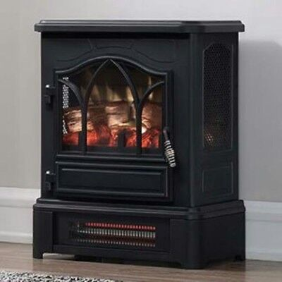 Duraflame Dfi 5010 01 Infrared Quartz Fireplace Stove With 3d Flame