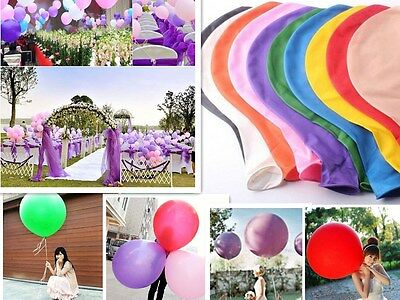 "36 ""inch géant grand grand latex ballon partie de mariage hélium Decor 2pcs"