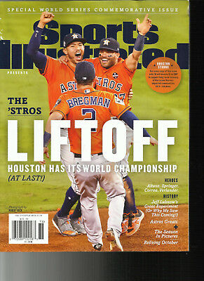 Sports Illustrated Magazine,  Special World Series Commemorative Issue  Lift Off