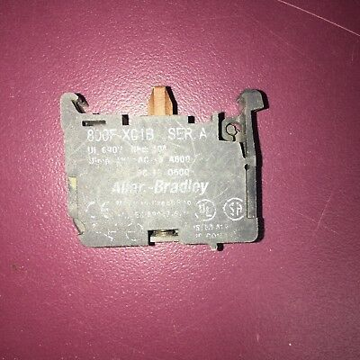 Allen-Bradley 800F-X01B Contact Block Normally Closed