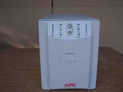 White APC Smart-UPS 1000 UPS 1000VA 670W With New battery 6-month warranty