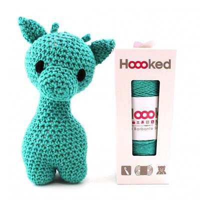 Hoooked  DIY Eco Barbante Ziggy Giraffe Crochet Kit - Lagoon 22cm
