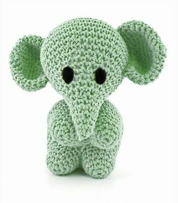 Hoooked DIY Eco Barbante Mo Elephant Crochet Kit - Spring 20cm