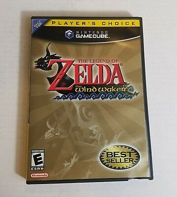 The Legend of Zelda: The Wind Waker Nintendo GameCube COMPLETE Game+Case+Manual