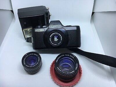 Pentax Auto 110 Kit incl 3 lenses & Flash