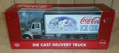 K-LINE COCA COLA - Polar Bear with Snowballs  Delivery / Transport Truck