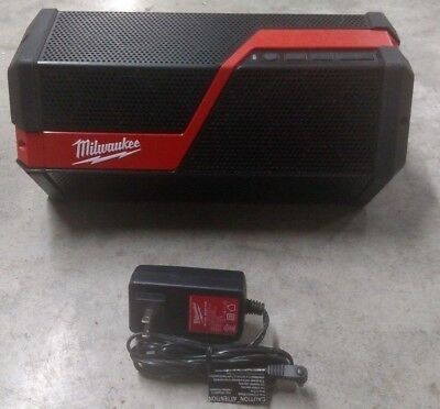 Milwaukee M18 M12 Wireless Jobsite Speaker Model# 2891-20