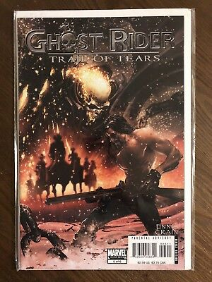 Ghost Rider Trail of Tears Marvel Comics