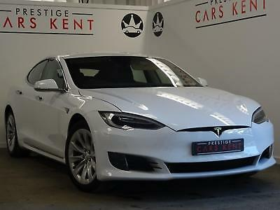 2016 Tesla Model S 70kWh 5dr Auto Electric white Automatic