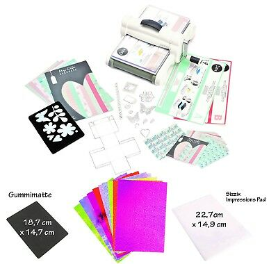 Sizzix Big Shot Plus, DINA4 Präge & Schneidemaschine, Deluxe Edition