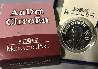 Francia 2008 Andre Citroen 1,50 Euros Silver / Proof Argent Silber 1/2 €