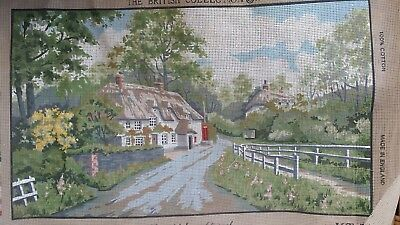 TAPESTRY NEEDLEPOINT KIT Kinetic Anchor British Collection 'Rampisham Dorset'