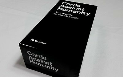 Cards Against Humanity UK Edition Board Playing Family Birthday Party Card Game