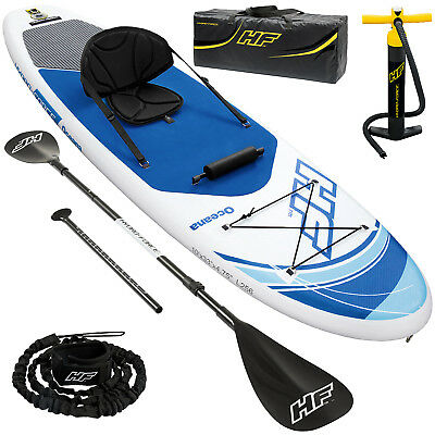 Hydro Force SUP Stand Up Paddle Surfbrett aufblasbar iSUP inkl Paddel Surf Board