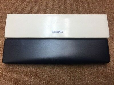 Seiko Long Style Watch Box. Great Pre-owned Condition!