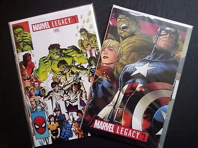 Marvel Legacy #1 Set! eBay Exclusive and Gatefold Cover