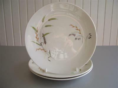"Ridgway 3 x 9"" Lunch Plates - Retro, Vintage Canadiana Pattern"