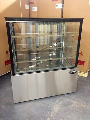 """Bakery Case Refrigerated Pastry Deli 3' Display Case 36"""" Cake Show Case  NEW"""