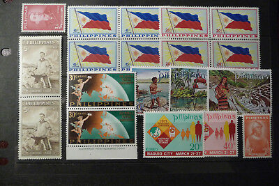 Briefmarken Philippinen, Lot postfrisch